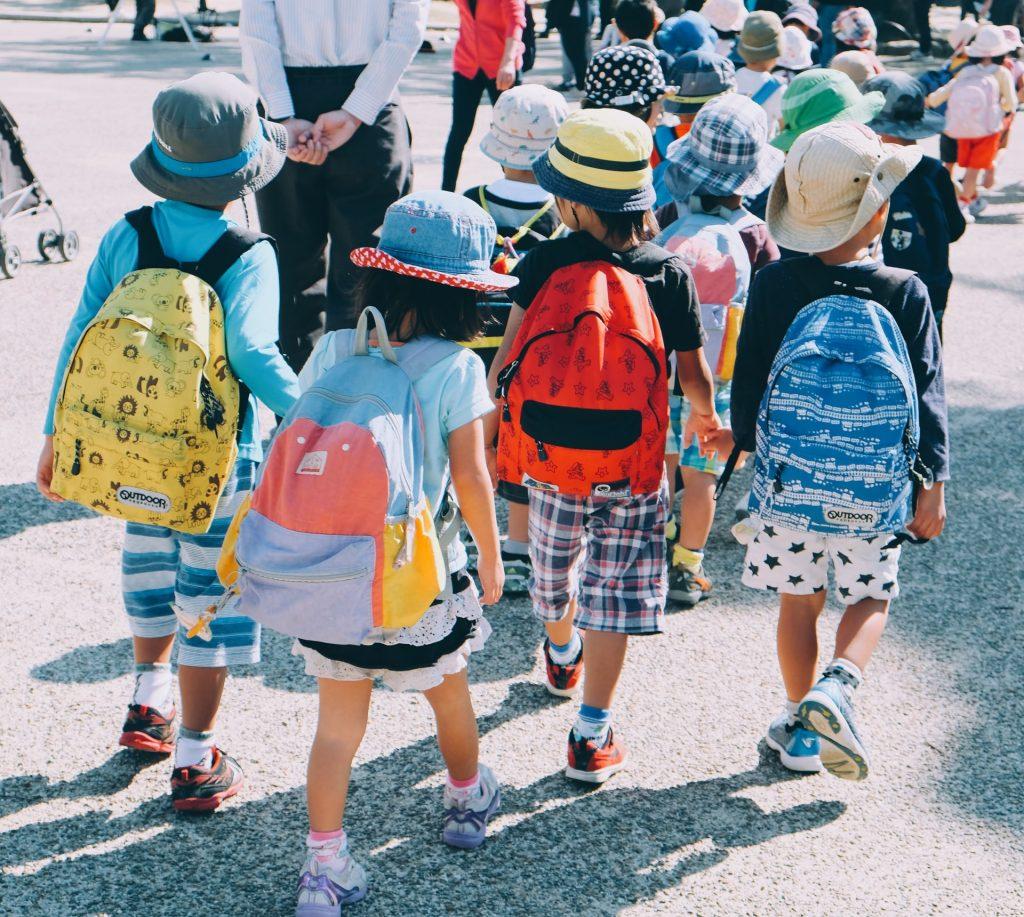niños vuelta al cole