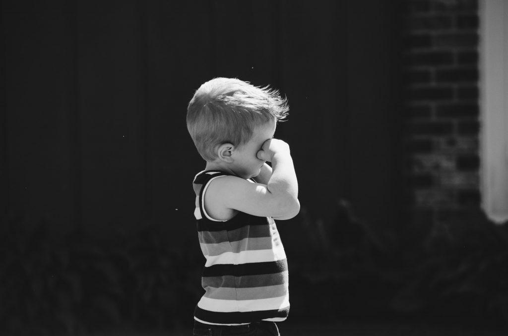 acompañar frustración infantil